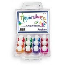 SentoSphere - Aquarellum - Koffer mit 12 Farben