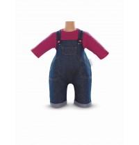 Corolle - BB42 - Set Jeans-Latzhose