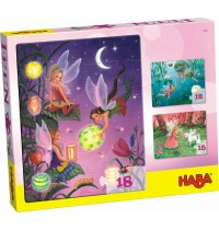 HABA® - Puzzlesortiment 12/15/18 Teile - Feen