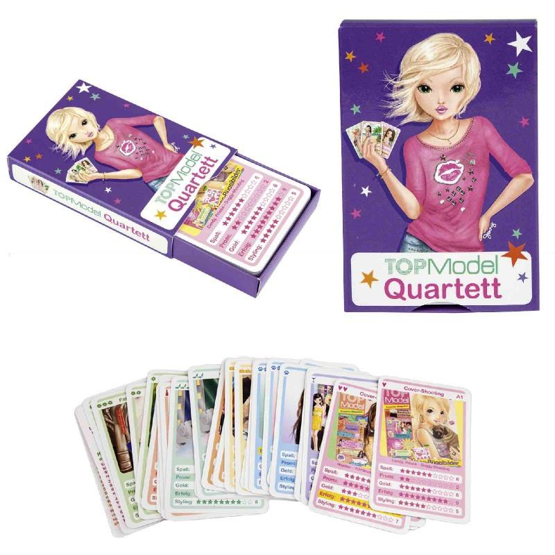 Depesche Topmodel Spielkarten Quartetttopmodel By