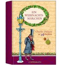 Coppenrath - Ein Weihnachtsmärchen - Charles Dickens in 24 Büchlein