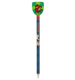 Die Spiegelburg - Bleistift mit Radiertopper Vincelot