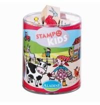 Aladine - Stampo Kids Lili auf dem Bauernhof