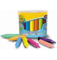 Crayola - 24 Jumbo Wachsmalstifte