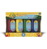 Crayola - Auswaschbare Fingerfarbe (4er Pack)