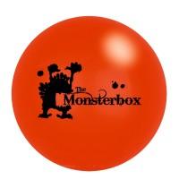 Die Spiegelburg - Leuchtflummi The Monsterbox, sort.
