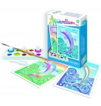 SentoSphere - Aquarellum Mini - Delfine