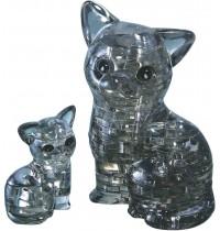 Jeruel Industrial - Crystal Puzzle, Katzenpaar