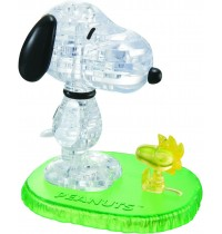 HCM Kinzel - Crystal Puzzle - Snoopy Woodstock