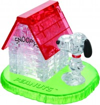 HCM Kinzel - Crystal Puzzle - Snoopy House