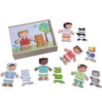 HABA® - Holzpuzzle Kinder der Welt