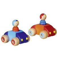 Goki - Fahrzeuge mit Männchen und Hupe