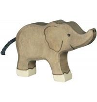 Goki - Elefant, klein, Rüssel hoch