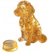 Jeruel Industrial - Crystal Puzzle, Golden Retriever, 41 Teile