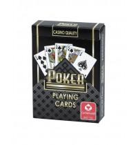 Carta Mundi - Pokerdeck (schwarz), internationales Bild