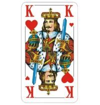 ASS Altenburger Spielkarten - Senioren Skat, französisches Bild