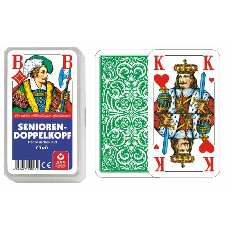ASS Altenburger Spielkarten - Senioren-Doppelkopf, französisches Bild
