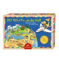 Die Spiegelburg - Familienspiel Mit Felix um die Welt