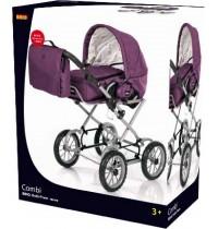 BRIO - Puppenwagen Premium Combi, violett mitTasche
