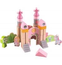 HABA® - Spiel Bausteine kleines Märchenschloss