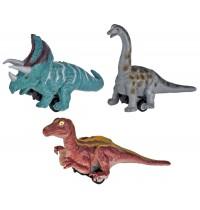 Die Spiegelburg - Flitzende Dinosaurier T-Rex World, sort.