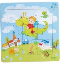 HABA® - Holzrahmen Puzzle Drachenritter