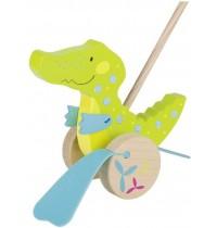 Goki - Schiebetier Krokodil, Susibelle
