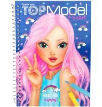 Depesche - TOPModel Pocket Malbuch mit 3D Cover