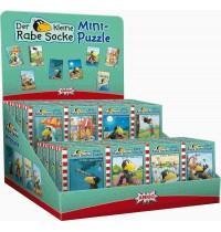Amigo Spiele - Kleiner Rabe Socke Mini-Puzzle, 54 Teile