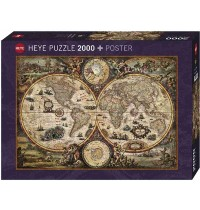 Heye - Standardpuzzle 2000 Teile - Vintage World
