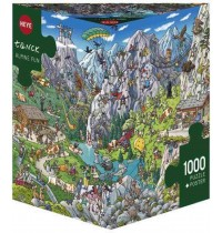 Heye - Dreieckspuzzle 1000 Teile - Tanck Alpine Fun