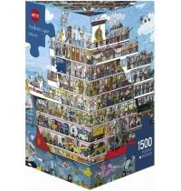 Heye - Dreieckspuzzle 1500 Teile - Lyon Cruise