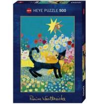 Heye - Standardpuzzle 500 Teile - Wachtmeister Sea of Blossom