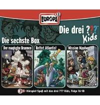 Europa - Die drei ??? Kids CD-Box Folgen 16 - 18