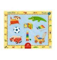 Die Spiegelburg - Rahmenpuzzle mit Fingerlochstanzung - Spielzeug, 8 Teile