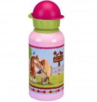 Die Spiegelburg - Alu-Trinkflasche Mein kleiner Ponyhof