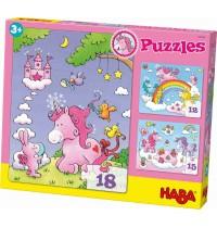 HABA® - Puzzles Einhorn Glitzerglück