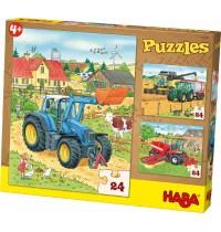 HABA® - Puzzles Traktor & Co.