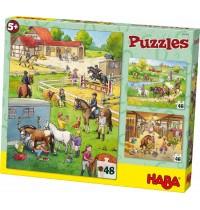 HABA® - Puzzles Pferdehof
