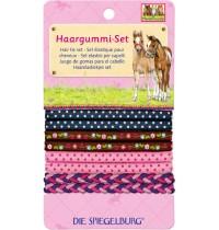 Die Spiegelburg - Haargummi-Set Pferdefreunde