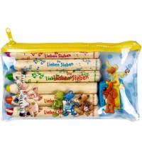 Die Spiegelburg - Buntstifte-Set mit Anspitzer Die Lieben Sieben