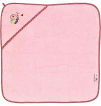 Die Spiegelburg - Kapuzenbadetuch rosa BabyGlück