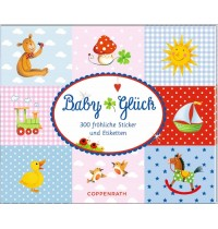 Coppenrath - Babyglück - Stickerbuch