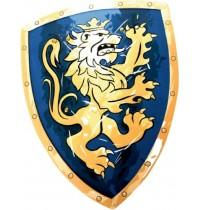 Lion Touch - Schild, Edler Ritter, blau