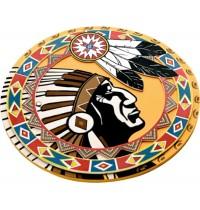 Lion Touch - Schild, Indianer