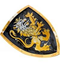 Lion Touch - Schild, Edler Ritter, schwarz