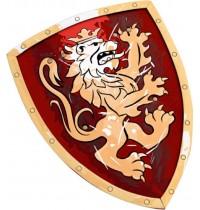 Lion Touch - Schild, Edler Ritter, rot