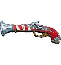 Lion Touch - Pistole, Totenkopf
