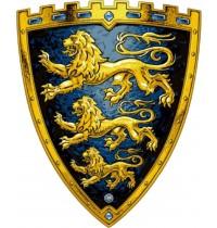 Lion Touch - Schild, Drei Löwen