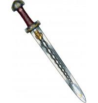 Lion Touch - Schwert, Wikinger, rot